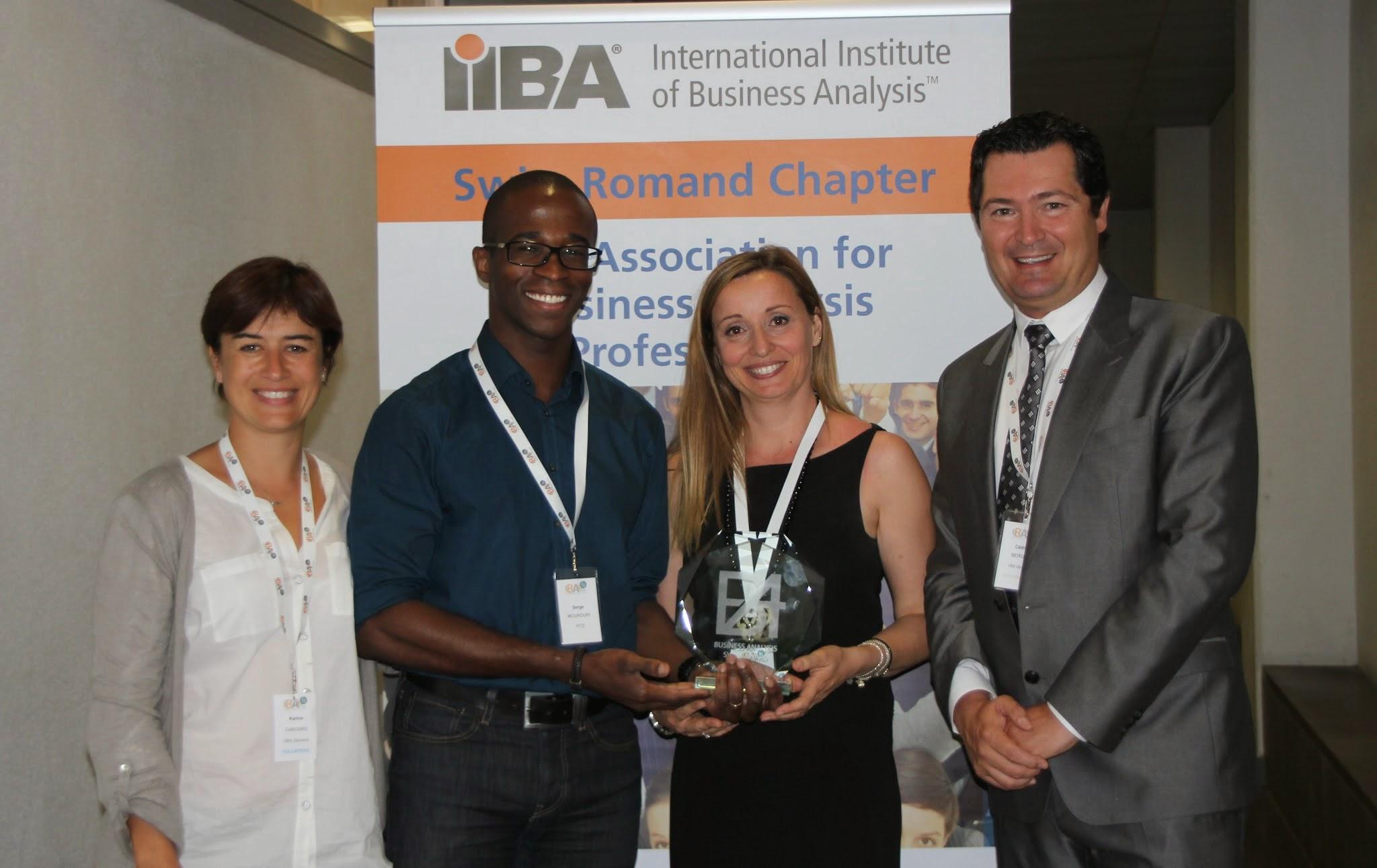 Vainqueurs du BA Award 2014